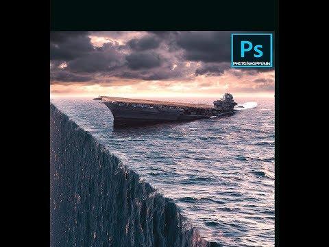 3D Ocean effect in Adobe Photoshop thumbnail