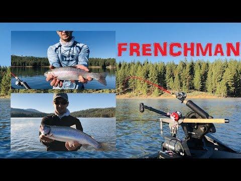 Frenchman Lake Trout Fishing!