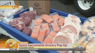 Sysco Sacramento Grocery Pop-up Sale