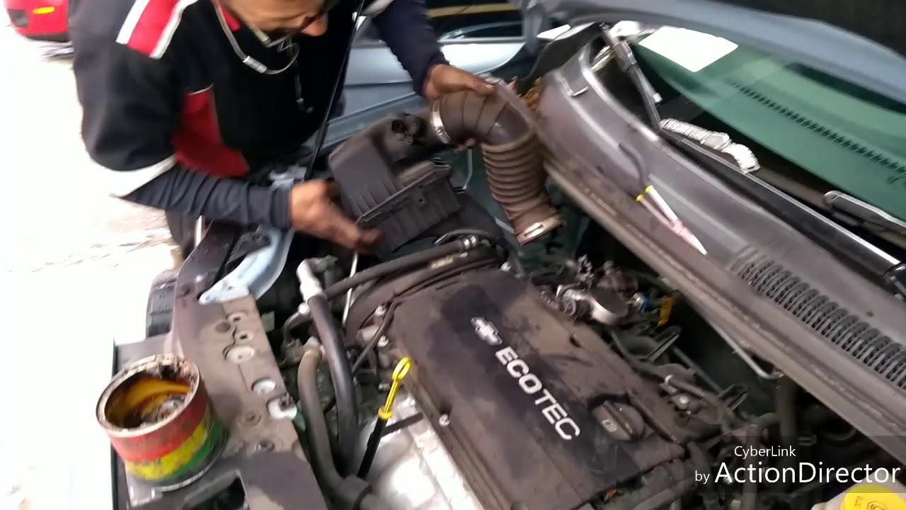 P0171 Fuel Trim System Lean  Chevrolet Sonic 2014
