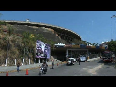 AFP news agency: Images of Venezuelan intelligence service headquarters