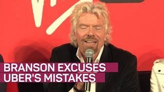Richard Branson excuses mistakes of Uber's Travis Kalanick