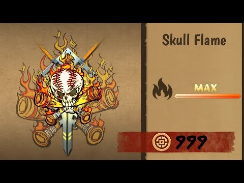 Shadow Fight 2 Ultra Powerful Magic Skull Flame