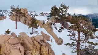 Отдых на снегу в Lake Tahoe
