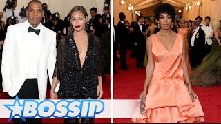 Solange Attacks Jay-Z In An Elevator (Official Footage) | BOSSIP