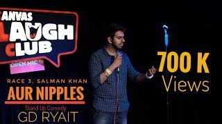Race 3, Salman Bhai Aur Nipples | Stand Up Comedy By Gd Ryait | Just GDing
