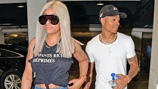 Blac Chyna And Boyfriend Mechie Are All Smiles When Asked If They're Getting Engaged