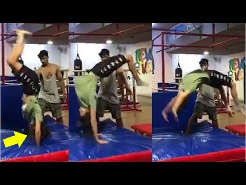 Disha Patani Doing BACK FLIPS In This Video Will Blow Your Mind Mp3