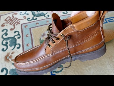 Russell Moccasin Co. USA Boots - The BEST In 4k UHD
