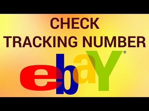 How to Check eBay Tracking Number