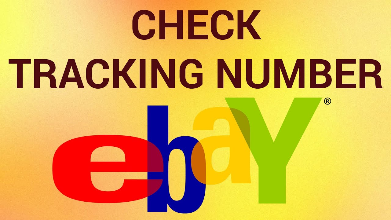 how to check ebay tracking number youtube. Black Bedroom Furniture Sets. Home Design Ideas