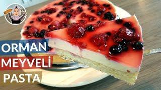 Pudingli Orman Meyveli Pasta (Schmand kuchen) çok hafif bir lezzet | Hatice Mazı ile Yemek Tarifleri