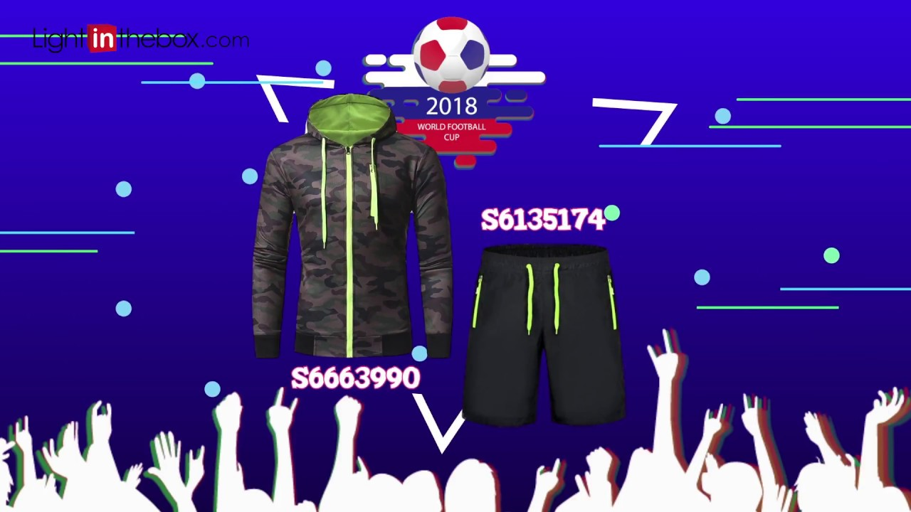 [VIDEO] - 2018 world cup outfits︱Lightinthebox 1