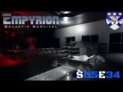 """Empyrion Galactic Survival (S05) -Ep 34 """"(HV) Miner Build Stage 1"""" -Multiplayer """"Let's Play"""""""