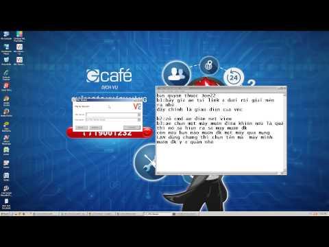 hướng dẫn hack điều khiển máy khác thông qua internet - HACK ĐIỀU KHIỂN MÁY TÍNH QUA CÁCH DÙNG CHUNG MẠNG LAN