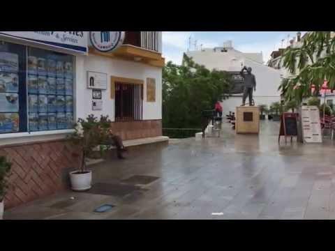 This is Torrox Pueblo in Spain - Torrox Pueblo on kiva pikkukaupunki lähellä Malagaa