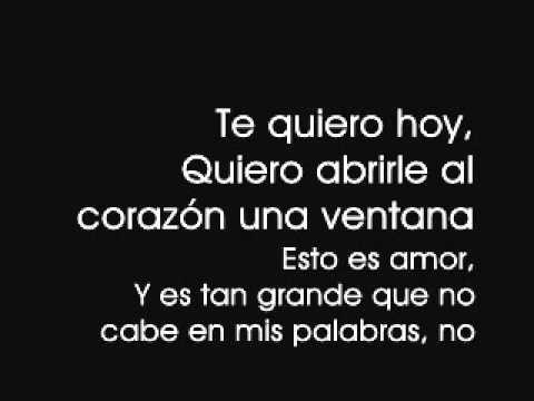 Nada es para Siempre – Luis Fonsi (with lyrics)