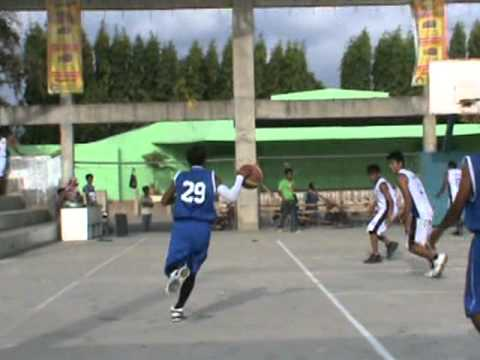 Basketball Game Tournament at Odiongan Romblon