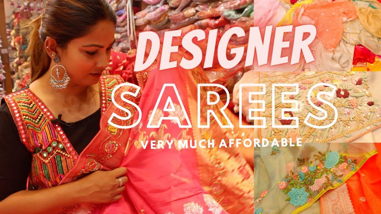 Found A Hidden Gem In Chandni Chowk   Designer Sarees Shop   Old Delhi Shopping   DesiGirl Traveller