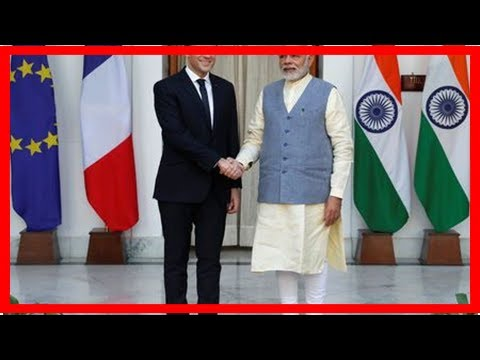 France signs deals worth $16 billion in India; to deepen defense,...