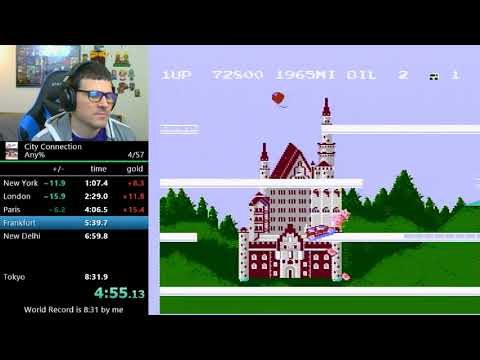 (7:40) City Connection (former world record)