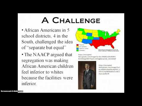 Brown v. Board of Education, Topeka, Kansas