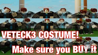 [Roblox] 15 Seconds: MOBILE SHIFT LOCK ADDED & VETECK3 COSTUME