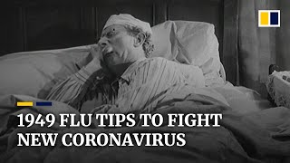 'If you catch it, don't spread it to others', 1949 flu advice still applies to coronavirus pandemic