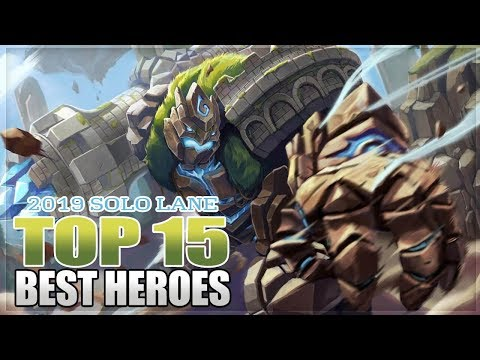 2019 TOP 15 BEST HEROES FOR SOLO LANE IN MOBILE LEGENDS