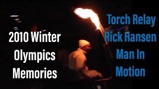2010 Winter Olympics Vancouver Torch Relay Rick Hansen