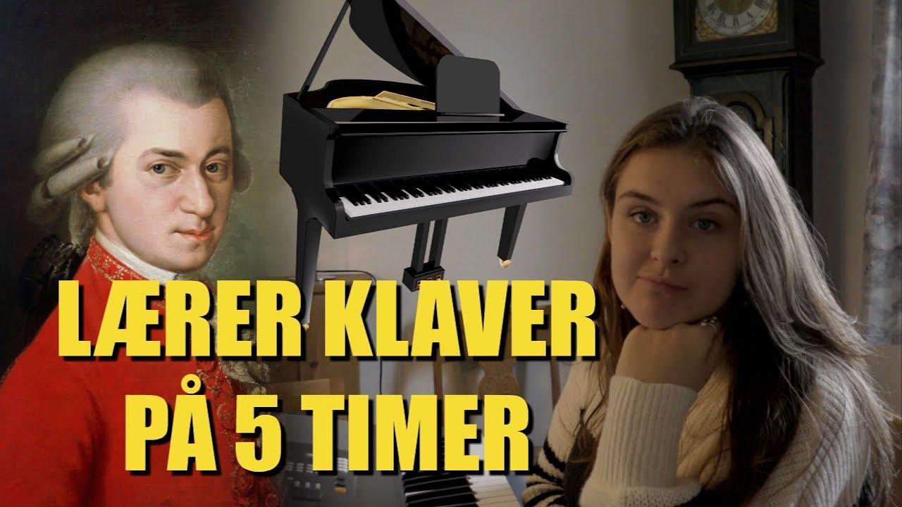 LÆRER AT SPILLE MOZART PÅ 5 TIMER! ///Katrines negle