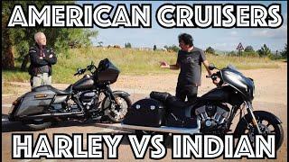 American Cruiser Shootout – Indian Chieftan Darkhorse vs Harley-Davidson Electra Glide Special