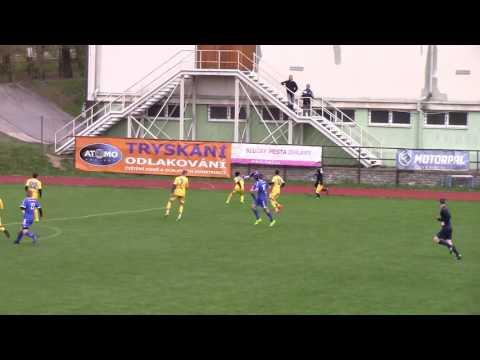 Sestřih utkání: FC Vysočina Jihlava U16 - SK Sigma Olomouc U16 0:4 (0:4) - 12.4.2017 (15. kolo)