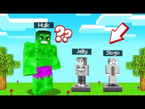 The HULK HIDE And SEEK In MINECRAFT! (Superhero)