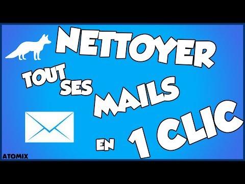 TUTO   Nettoyer sa boite mail en 1 CLIC ?! (Newsletter)