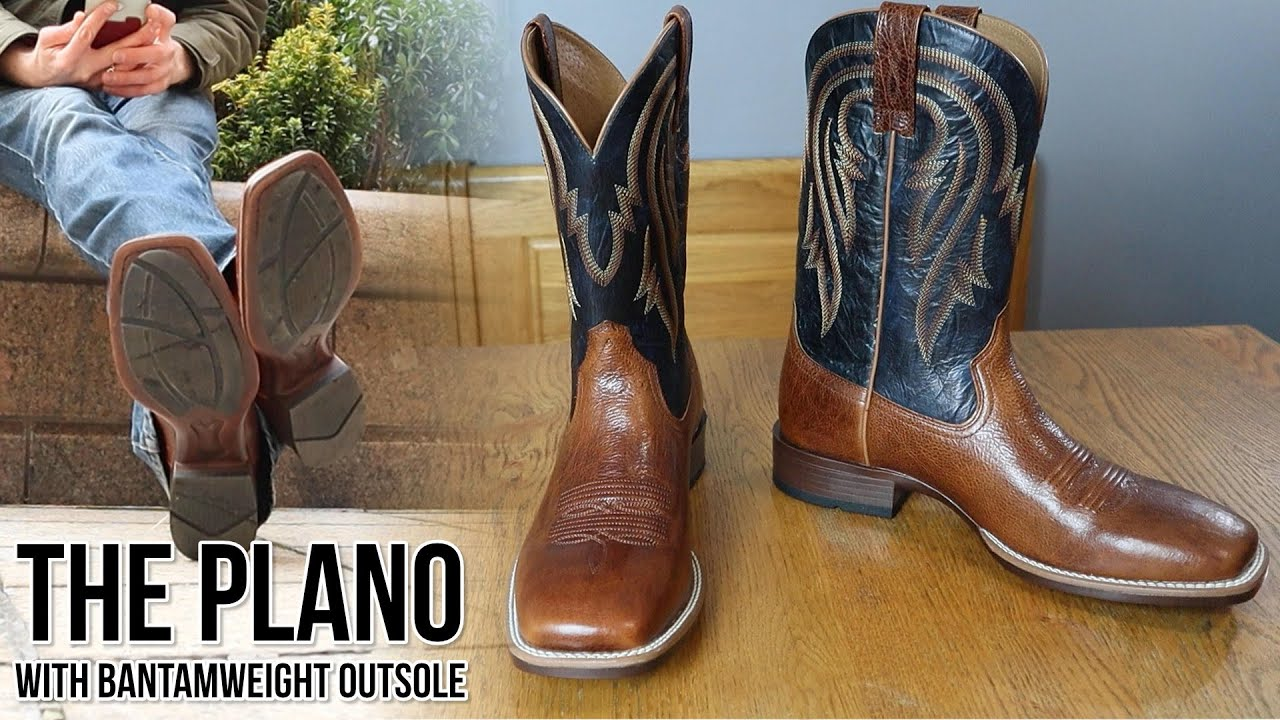 ARIAT Mens Plano Western Boot