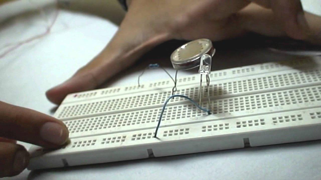 How To Make A Simple Light Sensor - YouTube