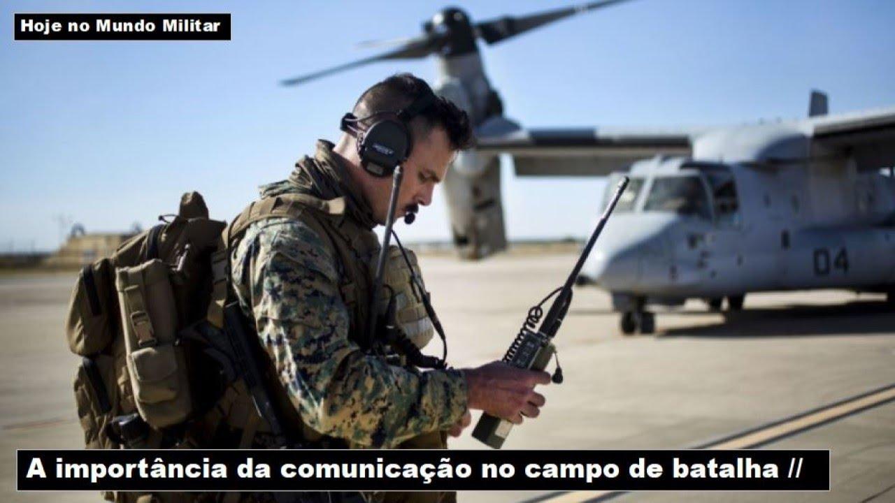 A importância da comunicação no campo de batalha