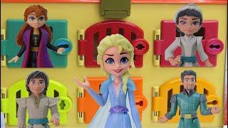 Frozen 2 Color Doors | Ultimate Search for Queen Elsa and Surprises
