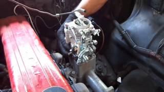 Adaptacion de carburador a Chevrolet Bel Air casadelcarburador.com