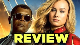 Captain Marvel REVIEW - Essential for Endgame? #Debrief