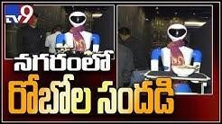 Enjoy food at first ever Robot restaurant    Hyderabad - TV9