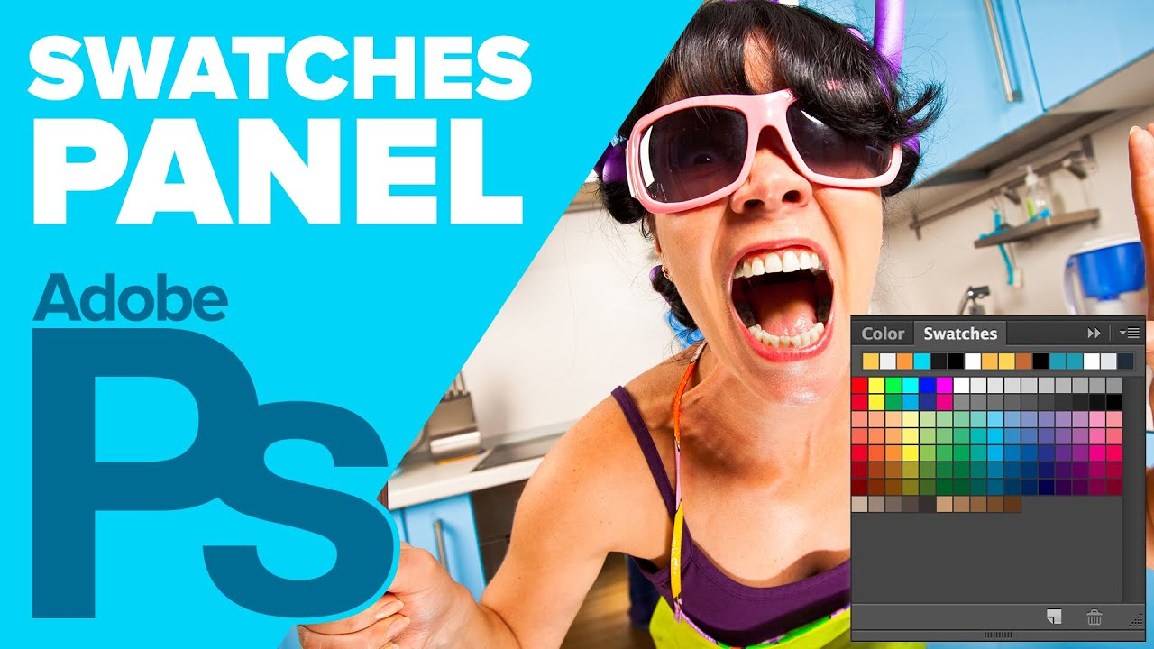 How to Use The Swatches Panel in Photoshop