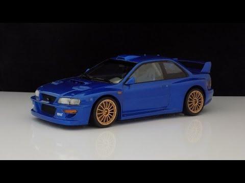 Subaru Impreza Wrx Sti 22b 1 24 Tamiya Youtube