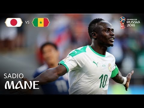 Sadio MANE Goal - Japan v Senegal - MATCH 32