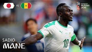 Sadio MANE Goal - Japan v Senegal - MATCH 32
