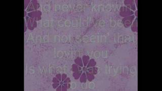 Rascal Flatts- What hurts the most.(Lyrics HQ)