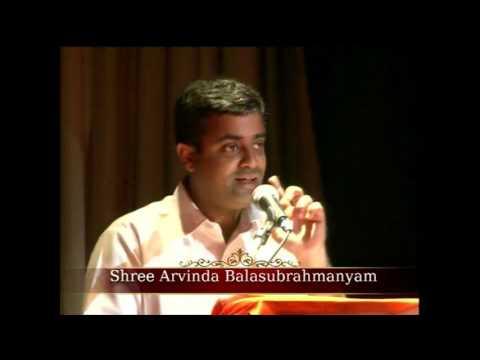 Living With God- Talk by Aravind Balasubramanyam during NYC 2017 Nepal