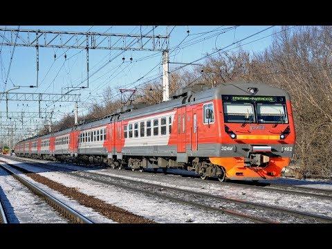 Поездка на электричке Рекс экспресс от Беговой до Одинцово