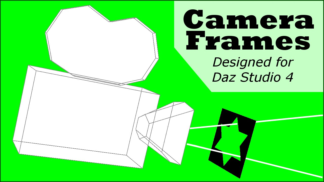 Camera Frames for Daz Studio 4 - YouTube